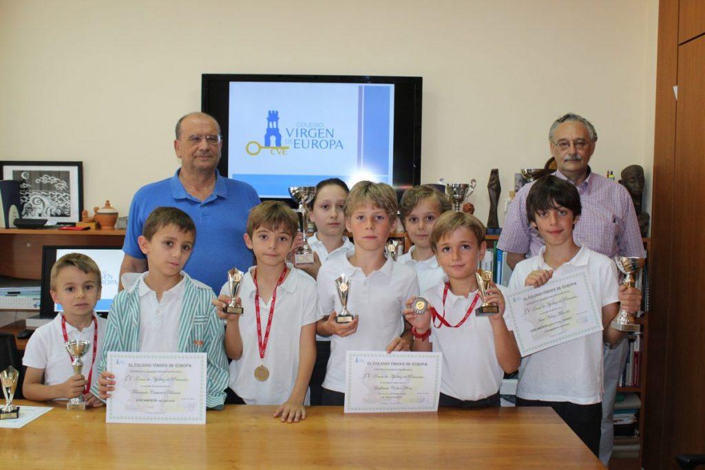 Los alumnos premiados de Primaria